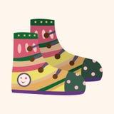 Shoe style theme elements vector,eps Stock Photos