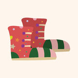 Shoe style theme elements vector,eps Stock Photography