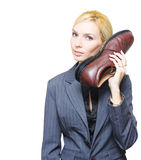 Shoe Telephone Royalty Free Stock Image