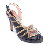 Shoe. woman sandal on a background. Shoe. woman sandal on background Royalty Free Stock Images