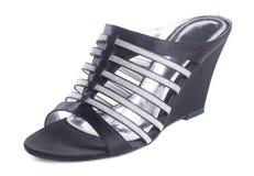 Shoe. woman sandal on a background. Shoe. woman sandal on background Stock Photos