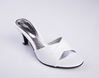 Shoe or woman sandal on a background. Shoe or woman sandal on a background Stock Photos