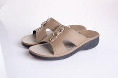 Shoe. woman sandal on background. woman sandal on a background. Shoe. woman sandal on background. woman sandal on a background Stock Images