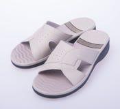 Shoe. woman sandal on background. woman sandal on a background. Shoe. woman sandal on background. woman sandal on a background Stock Photo