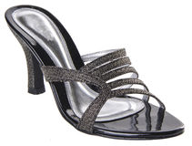 Shoe. woman shoe on a background Royalty Free Stock Photography