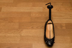 Shoe with wooden stretcher Stock Photography