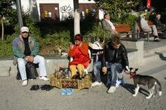 Shoeblack in Turkey Stock Image