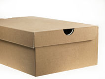Shoebox - cardboard Royalty Free Stock Photos