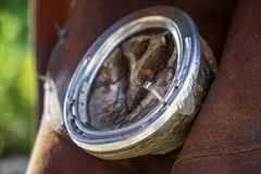 Shoeing horses Stock Images