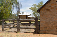 Shoeing Yard and Telegraph Station Royalty Free Stock Photos