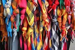 shoelaces Royaltyfri Bild