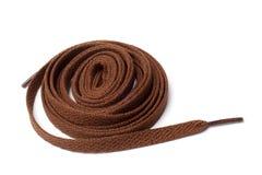 shoelaces Arkivfoto