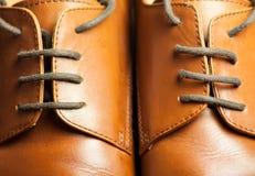 shoelaces Fotografering för Bildbyråer