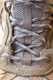 Shoelaces close-up Stock Photo