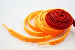 Shoe laces, close up Stock Photo