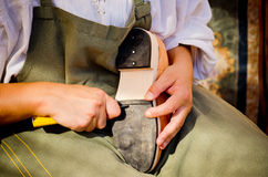 Shoemaker Royalty Free Stock Images
