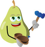 Shoemaker pear Stock Image