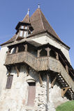 The Shoemaker's Tower, Sighisoara Stock Photos