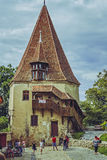 Shoemakers' Tower, Sighisoara, Romania Stock Image
