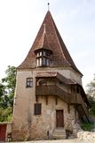 The Shoemakers' Tower, Sighisoara, Romania Royalty Free Stock Photography