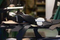 Shoemakers workshop Stock Image