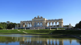 Shoenbrunn Palace Vienna Stock Photo