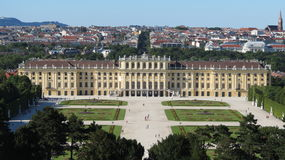 Shoenbrunn Palace Vienna Royalty Free Stock Images