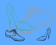 Shoes. Illustration stock illustration