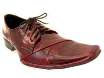 Shoes. Beautiful footwear on every opportunity Royalty Free Stock Image