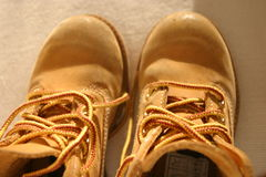 Shoes. Pair of children's shoes Royalty Free Stock Photos