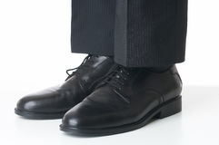 Shoes. Of a businessman Stock Photo