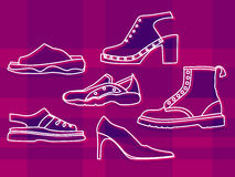 Shoes royalty free illustration