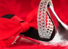 Shoes and accessories Royalty Free Stock Photography