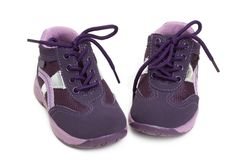 Shoes for baby Royalty Free Stock Photo