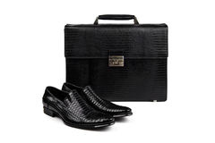 Shoes and bag-11 Stock Image