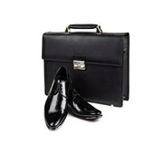 Shoes and bag-18 Stock Image