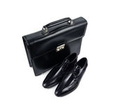 Shoes and bag-23 Royalty Free Stock Image