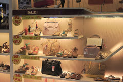 Shoes and bag shop Stock Photo