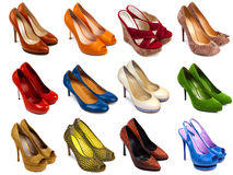 Shoes collection-1 Stock Image
