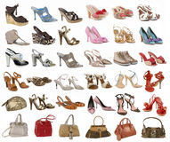 Shoes collection Royalty Free Stock Photography