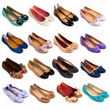 Shoes collection-7 Royalty Free Stock Images