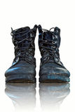 Shoes,combat Shoes Royalty Free Stock Photography