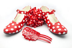 Shoes and complements Royalty Free Stock Photography