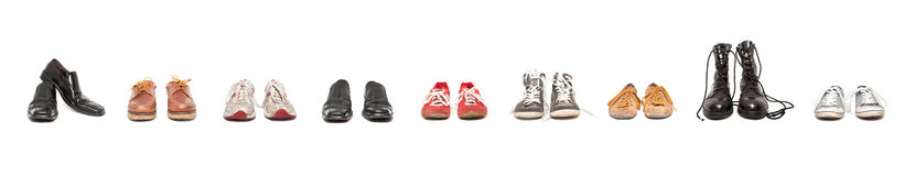 Shoes composition Royalty Free Stock Photo