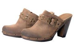 Shoes cowboy Stock Images