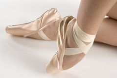 Shoes dancer Stock Image