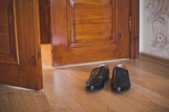 Shoes at doors 1404. Stock Photos