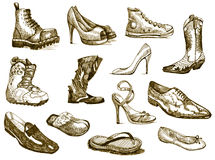 Shoes of dreams Stock Photo