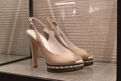Shoes elegance fashion. High objects Stock Photo