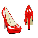 Shoes and Fashion No. 007 Royalty Free Stock Image